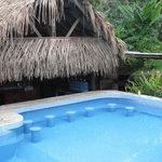 Pool bar seats