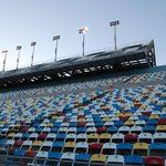 Grandstand seating