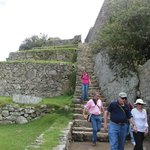 example of some of the steps at machu picchu