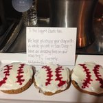 Sweet treat for baseball fans