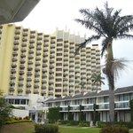 the resort hotel