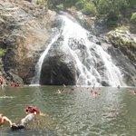 Doodh Sagar, Waterfall