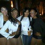 Con las bailarinas..!!