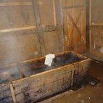 Hot stone bath service