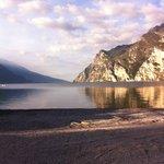 Gardasøen set fra hotel Oasi