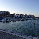Il porto turistico, che chicca