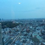 view from our room on the 26th floor looking towards Meiji shrine