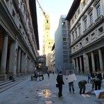 Las dos alas y el Palazzo Vecchio