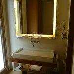 Nice bathroom sink area