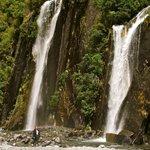 waterfalls en route