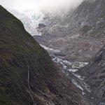 view of Fox Glacier