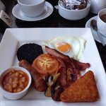 Good quality English breakfast, lovely..