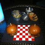 Amazing Tuna and Juicy Mini Burger