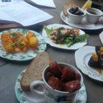 £3 dishes at The Bon Vivant, Dean Street, Edinburgh.