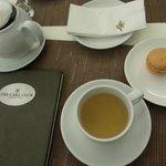 Teas and Salted Caramel Macaron