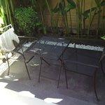 Outdoor seating (Deluxe villa)