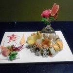 sushi with Jonathan!