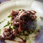 Crispy shredded Cherry Valley confit duck in hoi sin sauce