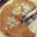 Cinnamon Apples Pancake