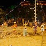 Yao minority show on the Hotels ground