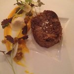 Stunning Duck with sweet potato and nut granola