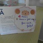 Unsere Maid war sehr lieb :)