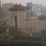 View from my room over central Beijing
