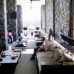 Very cozy lobby lounge