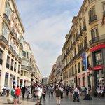 Calle Larios shopping perfection.