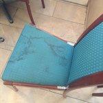 Las sillas del lobby