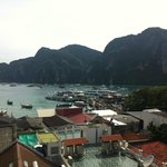 The view from the other side of the hotel to Tonsai Bay