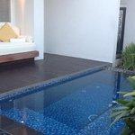 princess villa with private pool