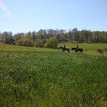 Balade a cheval avec Kami et Paso