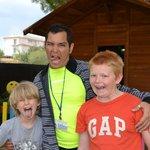 Antonio and my boys