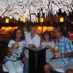 Délicieux cocktail en Cie de Sylvie & Didier...
