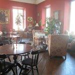 Globe bar /dining room