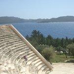 Blick vom Amphitheater
