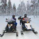 снегоходный маршрут