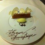 Dessert personnalisé .