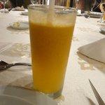 refreshing aguaymanto juice