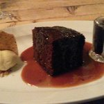 Terrific toffee pudding
