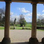 View from the portico