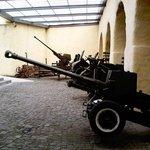 Eine Auswahl von alten Geschützen