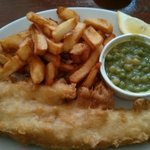 Fish and chips (2 for £14)