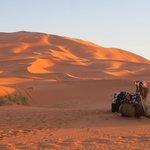 sunset at Sahara