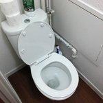 Very clean loo!
