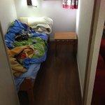Single room off main room