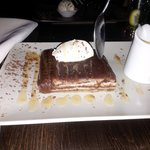 choc bread n butter pudding...... a-maze-in