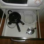 las escas cosas que hay para cocinar