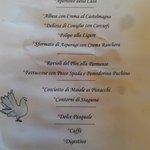 Il nostro menu pasquale
